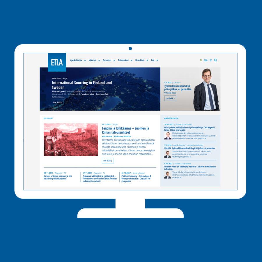 Etla.fi-sivusto desktopilla