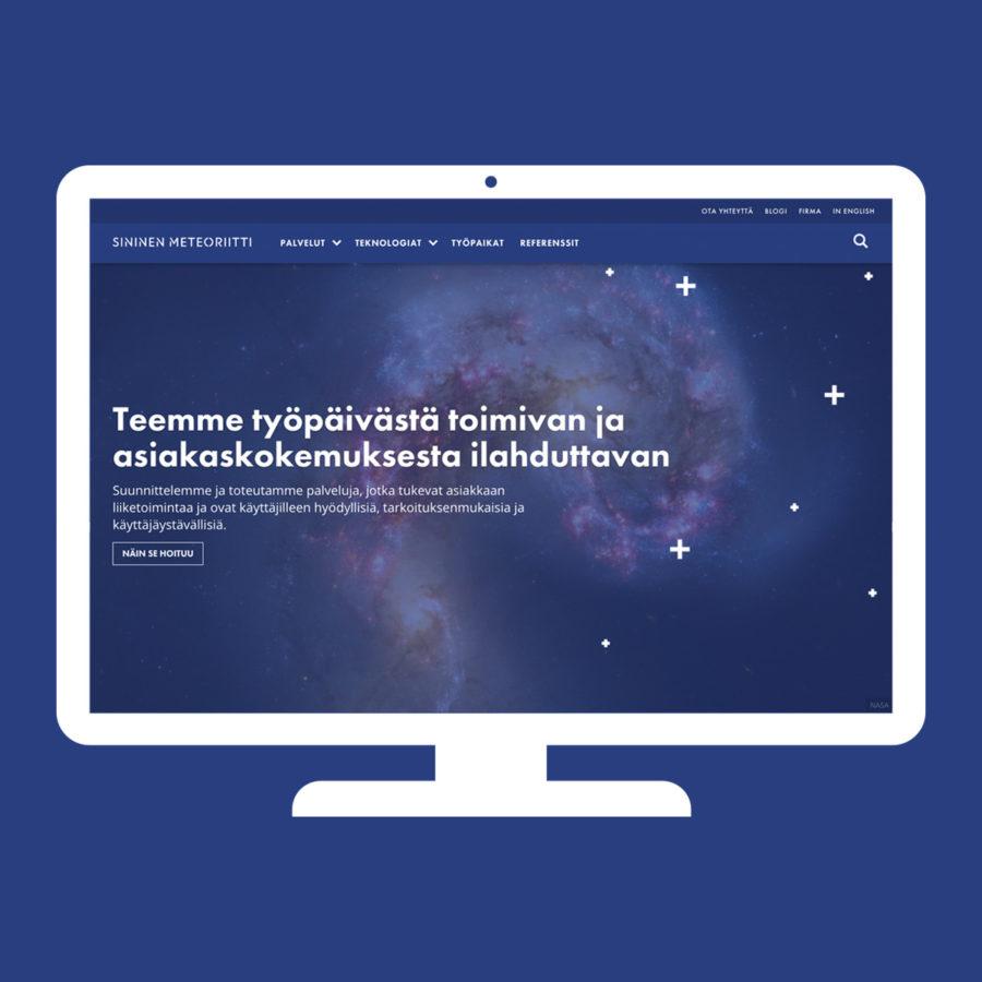 Sininen Meteoriitti - Desktop