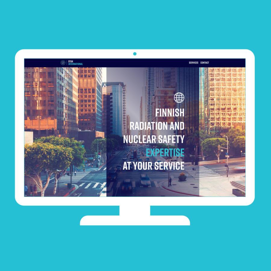 STUK International - Desktop-näkymä