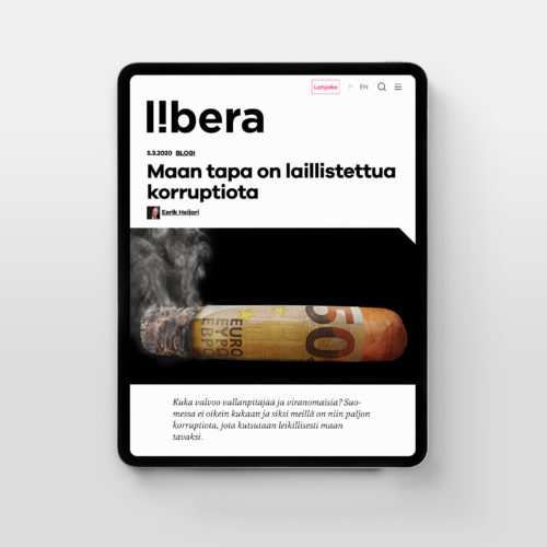 Liberan toinen redesign